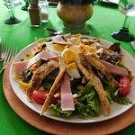 chef salad, Manix Restaurant, Ajijic