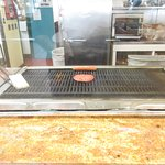 The grill at Char Hut