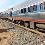 Amtrak Cardinal Train at Manassas Station
