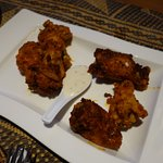 Wings, but with a little different spice profile - very good.