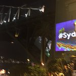 View of Harbour Bridge New Year's Eve