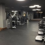 New fitness center- big! with ocean views