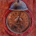 1920 Moore/Kling Gasoline Pump