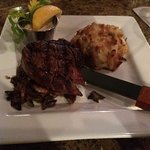 filet with crab meat