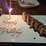My birthday dessert!