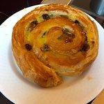 Raisin pastry at Cafe des Architectes.