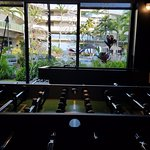Game center with (slightly broken) foosball table