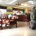 Lobby area at Ta Som Guesthouse