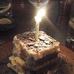 Terramisu for the two birthday folks