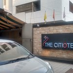 The Citiotel in lane opposite JM mandir