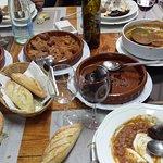 La mesa bien servida