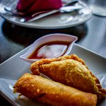 Spring Roll ad Curry Puff