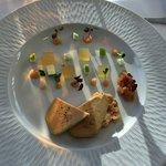Notre repas du 15 janvier 2017. Foie gras, homard, Saint Pierre... excellent