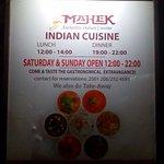 Mahek Restaurant Foto