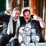 con mi gran amigo Juan Carlos Calderon