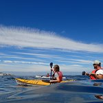 if you love open space, clouds, ocean and sun, come kayak with us!