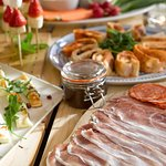 Irresistible Charcuterie Boards are included in our brand new party buffet menu!