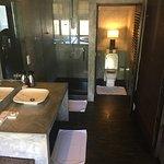 Hotelkamer en uitzicht na upgrade