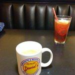 Coffee and iced tea were good tasting