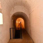 PASSAGEWAY IN THE BATTERY