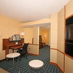 Our suites living area
