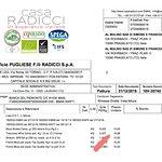 Provenienza mozzarella Caseificio Pugliese.