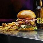 Bière; Burger; Musique au Ninkasi
