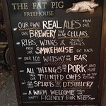 A great little brewpub, distillery and smokehouse.