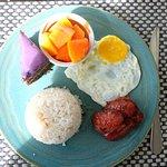 Longganisa Plated Breakfast