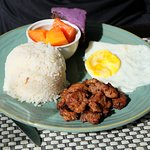 Pork Tapa Plated Breakfast