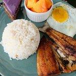 Daing na Bangus Plated Breakfast