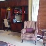 Spacious suite with plenty of storage!