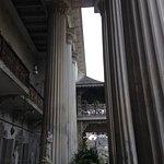 Tall pillars.