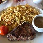 Carne Sudafricana con Spaguettis