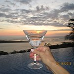 Martini Sunset at El Castillo