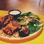 Tandoori chicken is our speciality