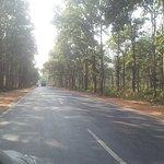 Beautiful metalled roads inside