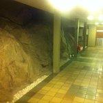 corredor de acesso ao aptos.