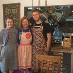 Looking good in our aprons