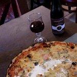 la pizza auberge. loock rustique mais bien bonne