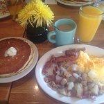 My breakfast was DELISH!!!