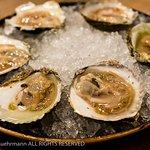 Den Dyver - Brugge, Belgium - 6 Platte Oysters