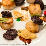 Den Dyver - Brugge, Belgium - Scallops and Blood Sausage