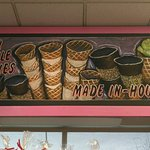 Many ice cream flavors to choose from