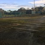 One of the many tennis courts.