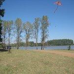 esta foto es sobre el rio que se encuentra la represa de salto grande