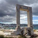 Naxos Chora from the Portera