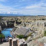 Los Hoyos, Piscina de aguas mineralizadas