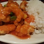 Hot & Sour soup, wonton soup, Mongolian Beef, Garlic Shredded Chicken, Sweet & Sour Chicken, Lo