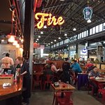 Fire...in the Pybus Market